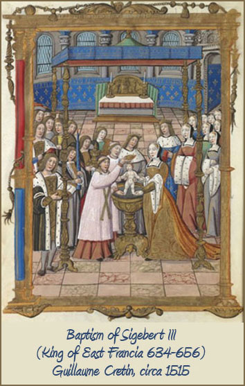 baptism of Sigebert