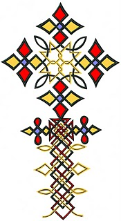 Ethiopian devotional cross