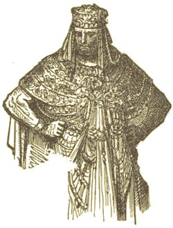 Woodcut of Nebuchadnezzar