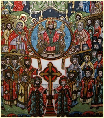Romanian devotional icon