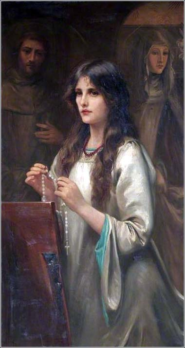 <i>The Rosary</i> by Beatrice Offor, ca. 1910.
