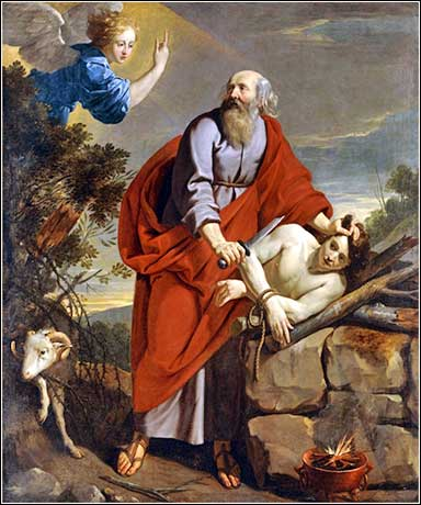 <i>The Sacrifice of Isaac</i>, by Philippe de Champaigne, ca. 1650.