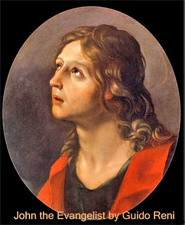 John the Evangelist by Guido Reni