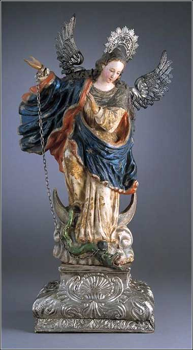 <i>The Virgin of Quito,</i> by Bernardo de Legarda, ca. 1734