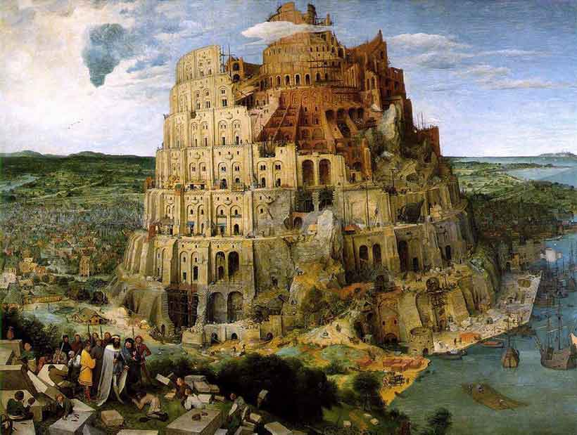 Tower of Babel by Brueghel