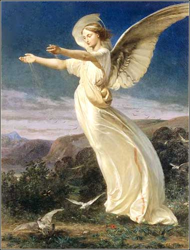 <i>Sowing Angel</i> by Armand Cambon, ca. 1860.