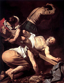crucifixion of Peter by Caravaggio