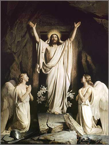 <i>The Resurrection</i> by Carl Bloch, ca. 1873.