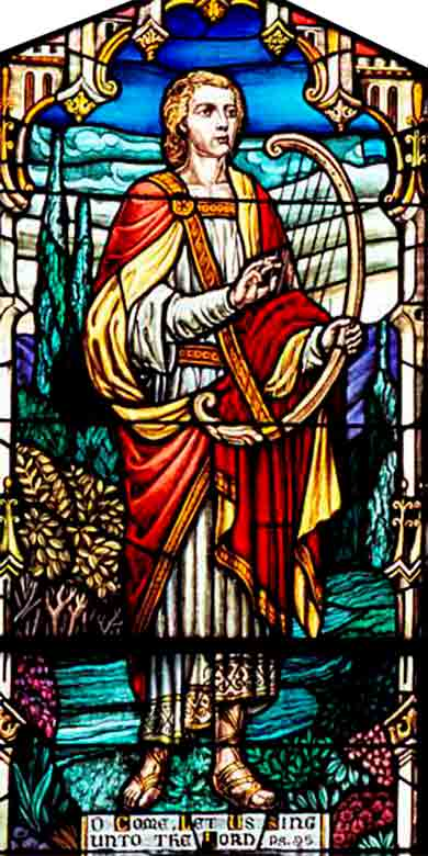 <i>David the Psalmist</i>, Grace Lutheran Church, Jersey City, New Jersey (US)