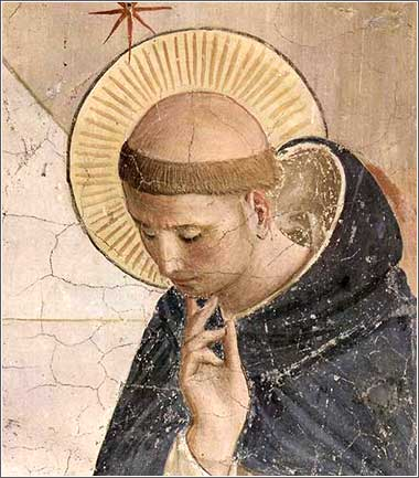 <i>Domingues de Gusmao</i> by Fra Angelico, ca. 1420.