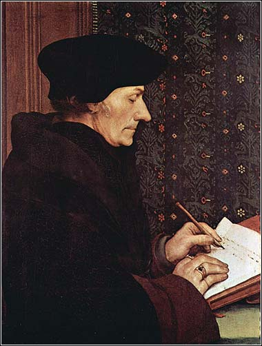 <i>Erasmus</i> by Hans Holbein the Younger, ca. 1523.