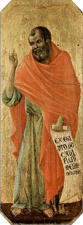 <i>The Prophet Hosea</i> by Duccio di Buoninsegna, ca. 1311