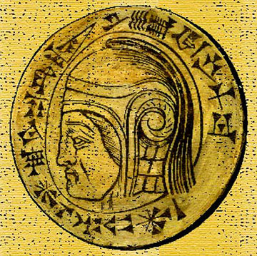 devotional medallion of Nebuchadnezzar