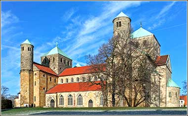 St. Michael's Church in Hildesheim, Germany.