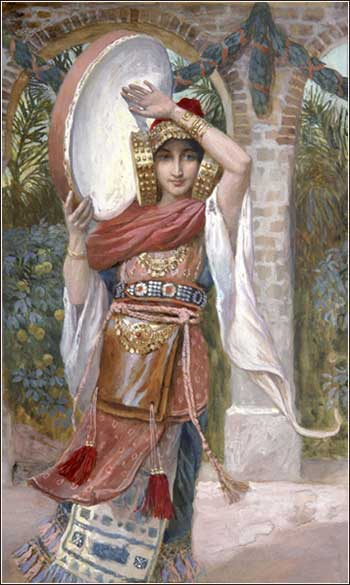 <i>Jephthah's Daughter</i> by James Tissot, ca. 1900.