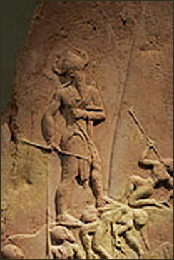 Battle Stele, Abraham at the Battle of the Valley of Siddim