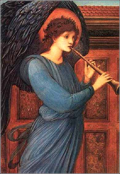 "The more materialistic science becomes, the more angels shall I paint: Their wings are my protest in favor of the immortality of the soul."" (Edward Burne-Jones, 1881)"