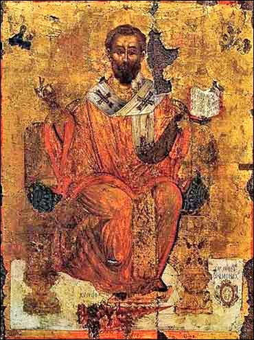 ancient Orthodox devotional icon of St. Barnabas of Cyprus