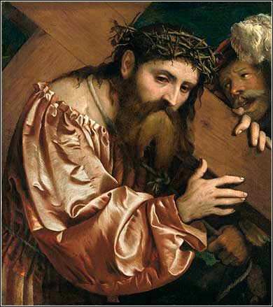 <i>Christ Carrying the Cross</i> by Girolamo Romanino, ca. 1542.