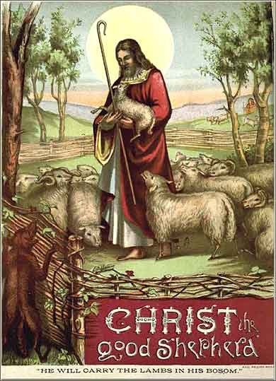 Christ the Good Shepherd, magazine cover