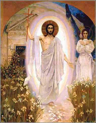 The Resurrection of Christ, Mikael Nesterov (Russian), c. 1917