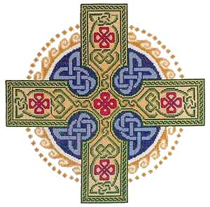 Needlepoint cross