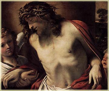 Christ Wearing the Crown of Thorns, painting by Annibale Carracci c. 1600