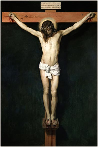 <i>Christ Crucified</i>  by Diego Velazquez, ca. 1632