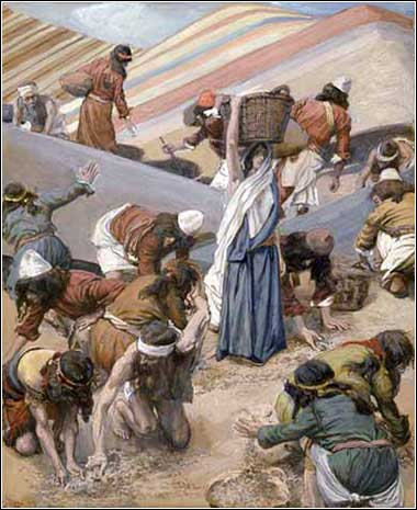 Exodus, Tissot, The Gathering of the Manna