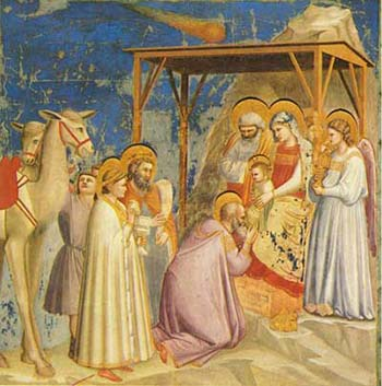 Giotto Christmas Nativity