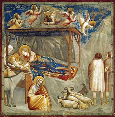 Birth of Christ, by Giotto