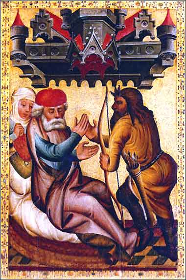 Isaac asks Esau for meat