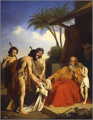 Devotional painting of Jacob