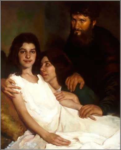 Jesus heals the daughter of a ruler, Matthew 9