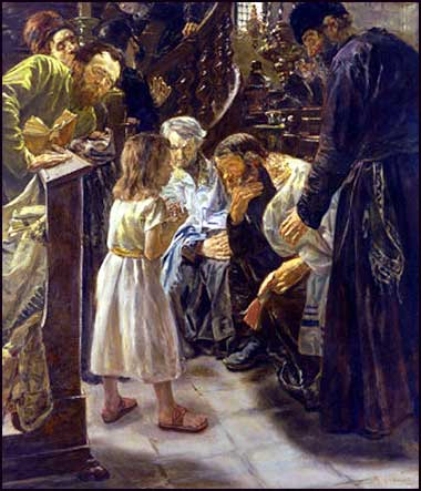 Twelve-year-old Jesus at the Temple, by Max Liebermann (1876)