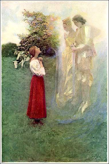 <i>Joan of Arc</i>, By Howard Pyle, ca. 1890.