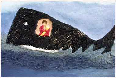 Jonah and the whale, Annie Lucas