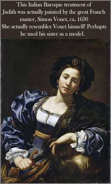 Devotional Judith by Vouet