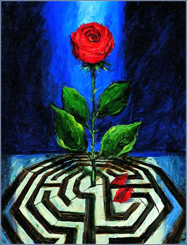 <i>Rose</i> by Sieger Koeder, ca 1978.