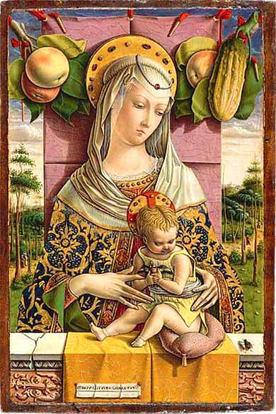 <i>Madonna and Child</i> by Carlo Crivelli, ca. 1480.