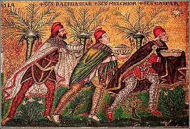 Mosaic of Three Wise Men for Christmas | Magi