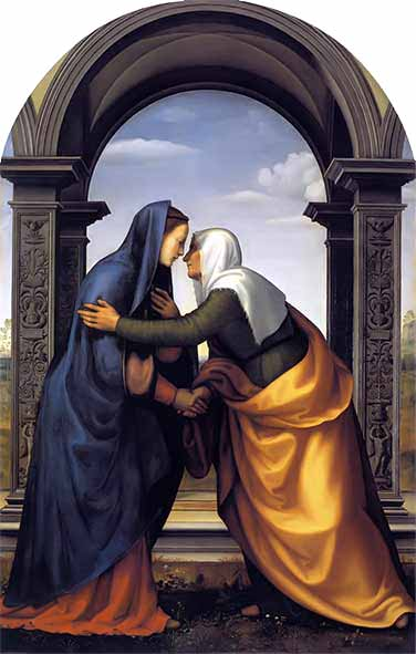 <i>The Visitation</i>, Mariotto Albertinelli c. 1503.