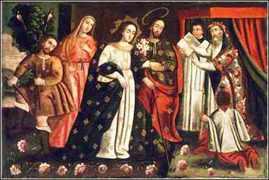 Marriage of Virgin Mary and Joseph