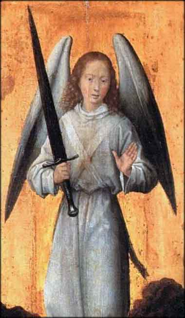 Devotional Painting of the Archangel Michael by Hans Memling, 1479
