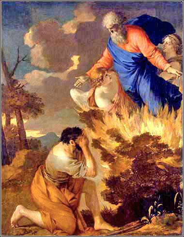 <i>Moses and the Burning Bush</i>, Sebastian Bourdon