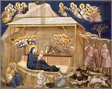 <i>Nativity</i> by Giotto, ca. 1311.