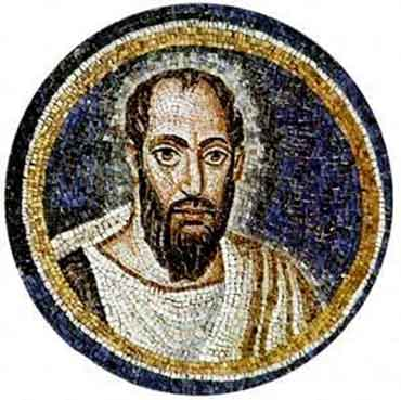 Saint Paul, mosaic, Bible