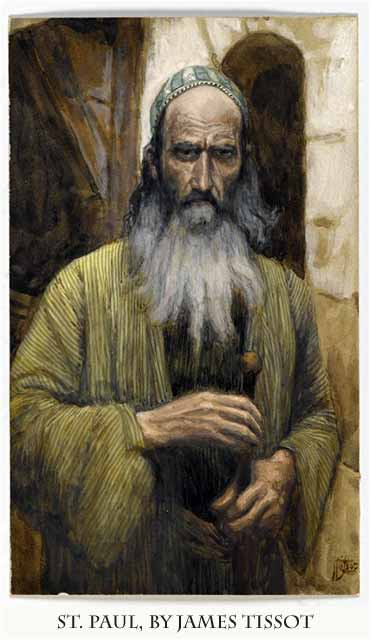Devotional painting of St. Paul by James Tissot