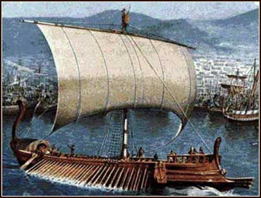 Phoenician ship in Bible times