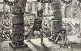 Samson Destroys the Temple